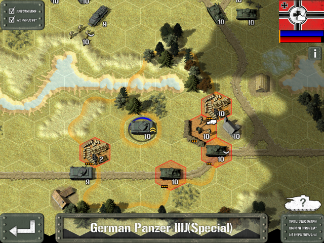 Tanks first, then AT gun, then supply depot.  Don't worry about the infantry.