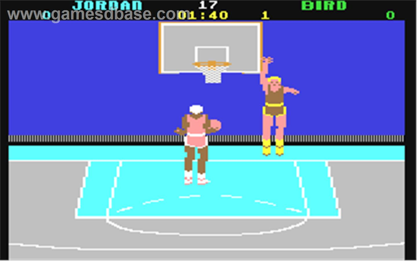 Jordan didn't even have a ring when this game came out.
