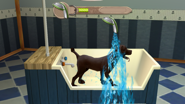Dog Hotel Game Shower