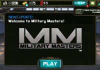 military masters mobile video game