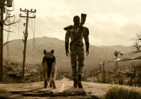 fallout 4 video game dog