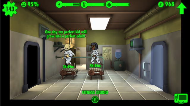 fallout shelter mobile video game