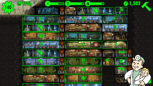 Building Fallout Shelter Game