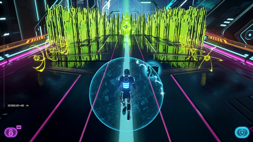 Tron Run/r video game