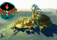 the flame in the flood video game