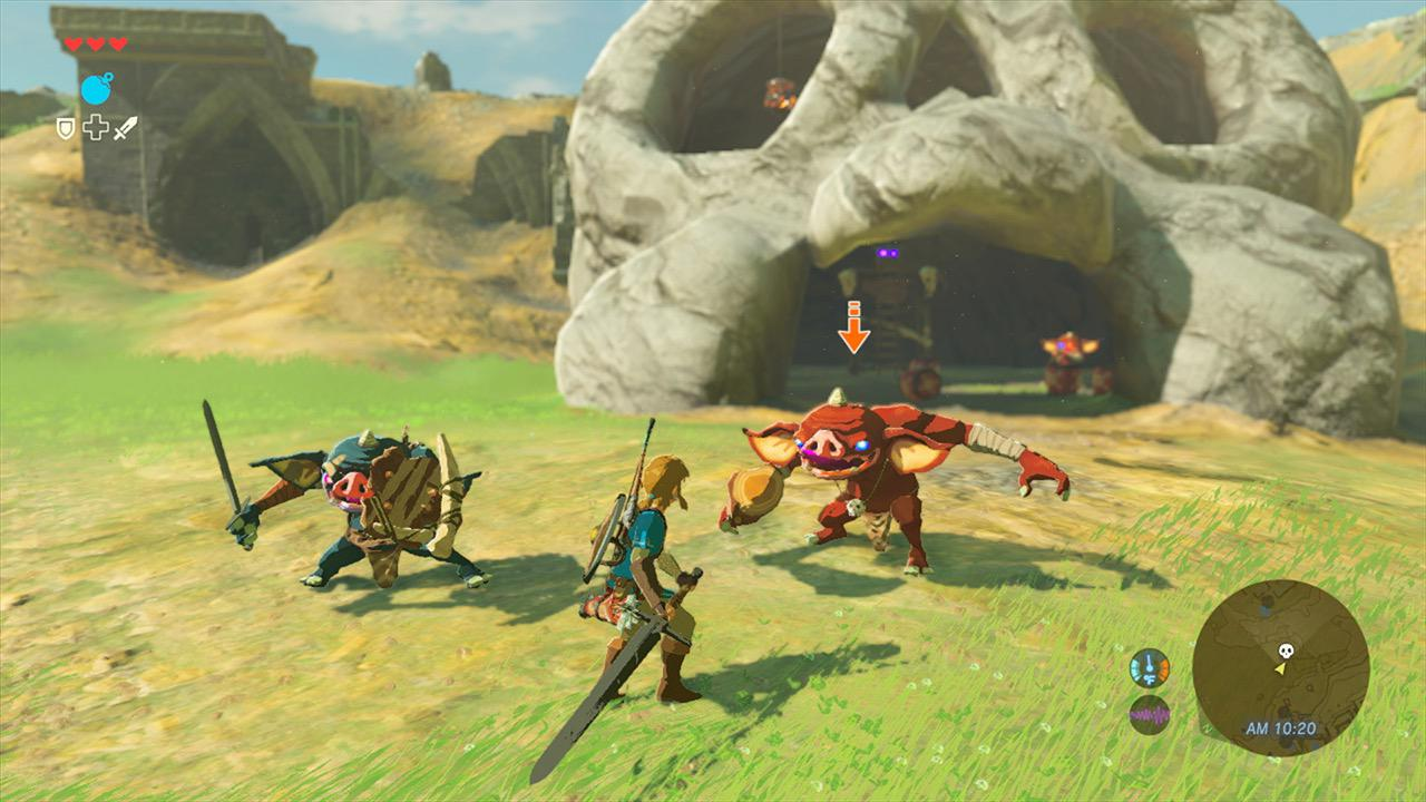 legend of zelda breath of the wild video game