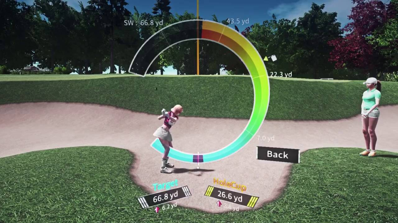 VR Golf Online video game