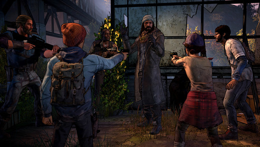 walking dead new frontier video game
