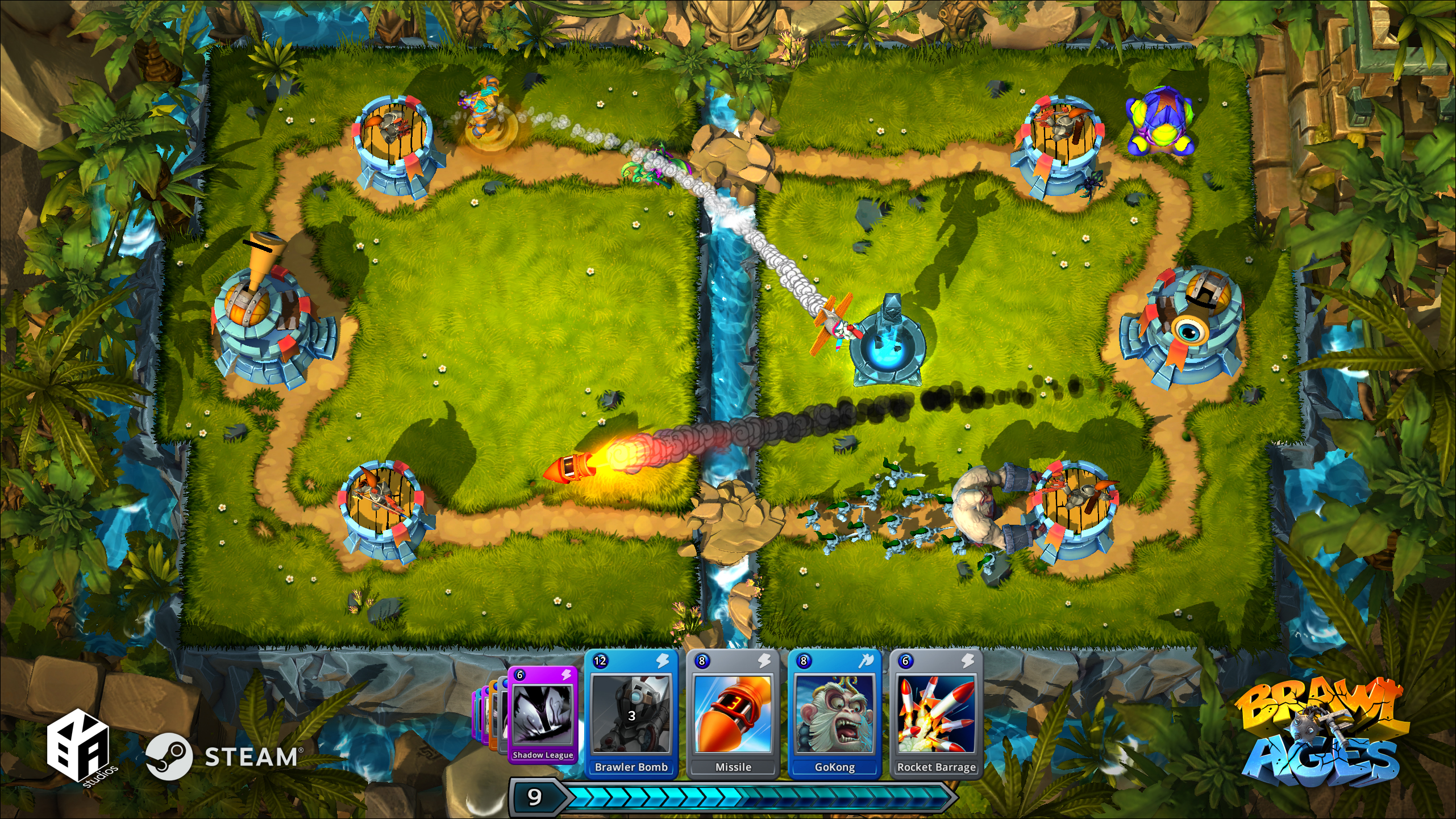 brawl of ages video game